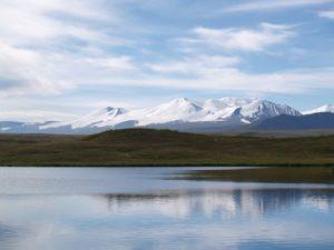 Плато Укок, гора Табын Богдо Ула